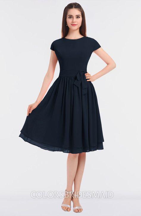 fa2d4daaae7b ColsBM Bella Modest A-line Short Sleeve Zip up Flower Bridesmaid Dresses # colsbm #bridesmaids #bridesmaiddress #weddings