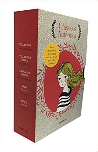 Caixa Classicos Autentica Vol 1 Pollyanna Pollyanna Moca A