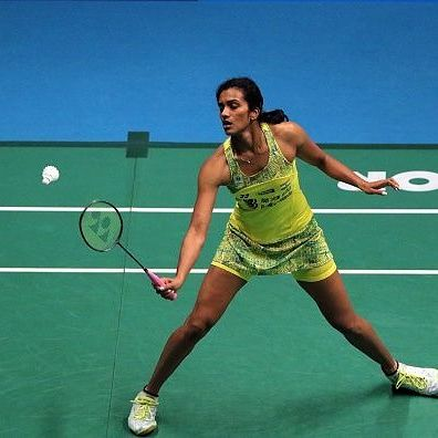 Pv Sindhu Badminton Player From India Badminton Players Olympics