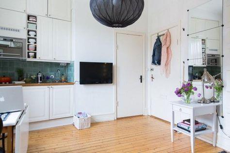 Vivir En 16 Metros Cuadrados Sería Posible Interior De Apartamento Interiores De Casa Casa Perfecta