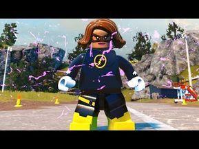 Lego Dc Super Villains Nora Allen Xs Cw Flash Custom Speedster Youtube Lego Super Heroes Lego Dc Super Villains