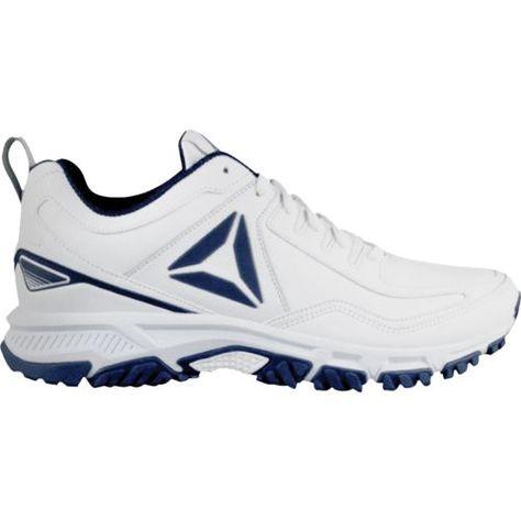 45bb16582185 Reebok Men s Ridgerider Leather Walking Shoes (White Navy