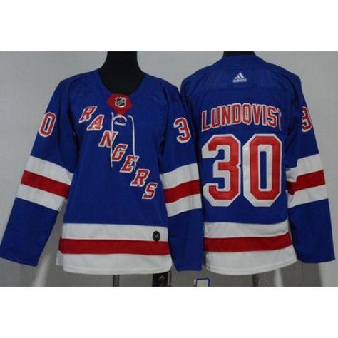 Youth New York Rangers  30 Henrik Lundqvist Blue Adidas Jersey ... b3eec36a1