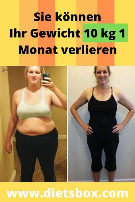Diät, um Gewicht in einem Monat 10 kg zu verlieren