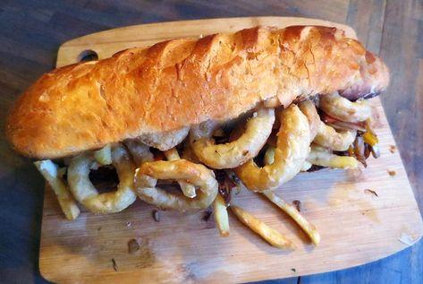 Sandwich Gatsby Afrique Du Sud Cuisine Alimentation Cuisine