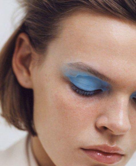 blue eyes #makeup
