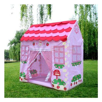 Pacific Play Tents Cottage House Tent $84.99 | Kidu0027s Play Spaces | Pinterest | House tent Cottage house and Play spaces  sc 1 st  Pinterest & Pacific Play Tents Cottage House Tent $84.99 | Kidu0027s Play Spaces ...
