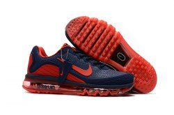 llamar Lujo por otra parte,  Zero Defect Nike Air Max 2017. 5 KPU Dark Blue/Red Men's Running ...