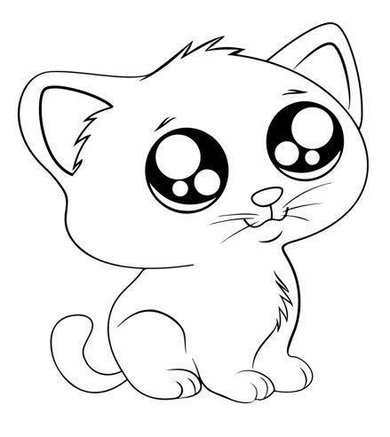 صور رسومات حيوانات سهلة للتلوين للاطفال الصغار في المنزل والمدرسة والحضانة ومناسبة للطباعة بسهولة ويمكن است In 2021 Spiderman Coloring Cute Cat Wallpaper Cat Wallpaper