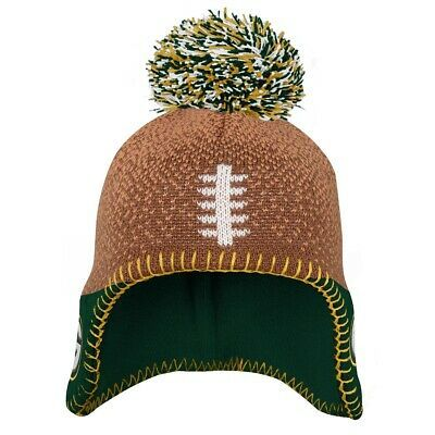 Ebay Sponsored Green Bay Packers Infant Child Football Head Knit Hat In 2020 Green Bay Packers Kids Winter Hats Green Bay Packers Baby