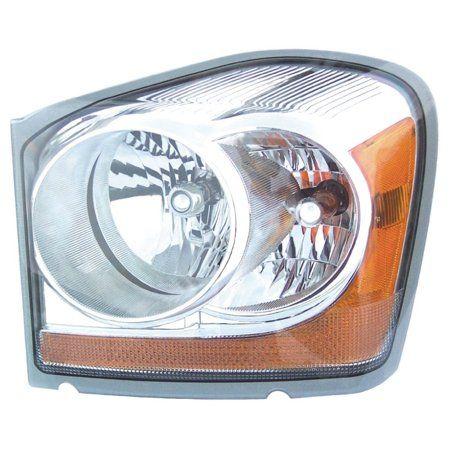 Dorman 1591057 Headlight For Dodge Durango Clear Lens Walmart Com Dodge Durango Headlight Restoration Diy Replacement Headlights