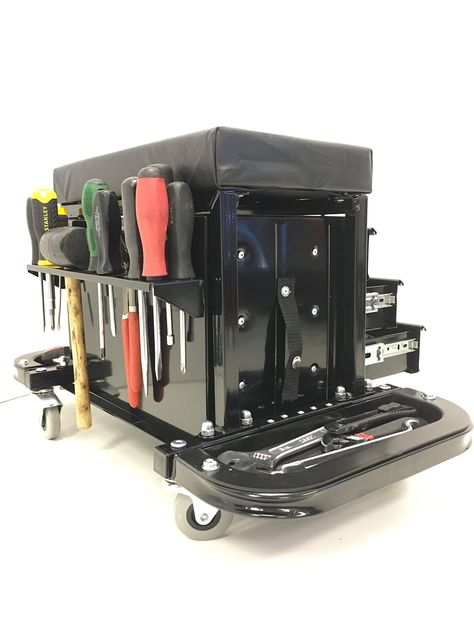 f6daf1d7e77bf83746a7d0ffc9a704d3 - One Stop Gardens Rolling Work Seat With Tool Tray