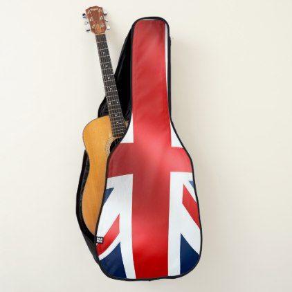 Uk Flag Design For Acoustic Guitar Bag Case Zazzle Com Guitar Bag Uk Flag Gifts For Him Uk