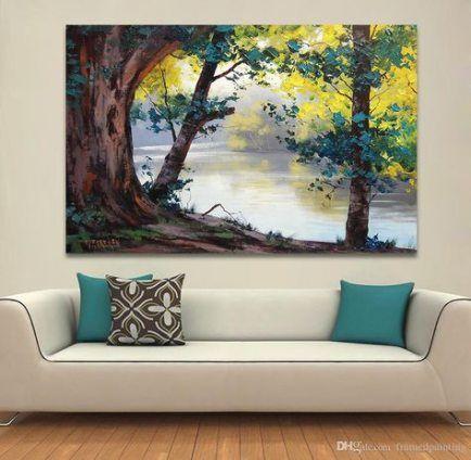 Best Landscaping Lighting Ideas Beautiful Ideas Living Room Canvas Art Oil Painting Nature Art Painting Oil Beautiful canvas for living room