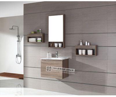 新款小尺寸浴室柜面盆柜组合简约浴柜洗脸盆组合柜洗手台柜 Bathroom
