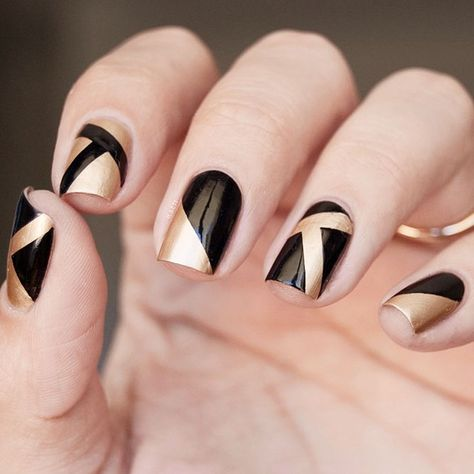 Unique and Creative Geometric Nail Designs For You. If you are looking for nail art designs and are still undecided then you are in the right place. We have put together unique ve beautiful geometric nail designs for you.