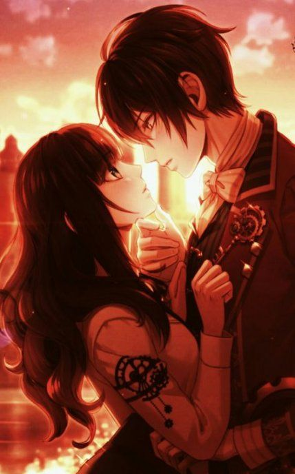 Anime art couples romantic kawaii 18+ ideas #art