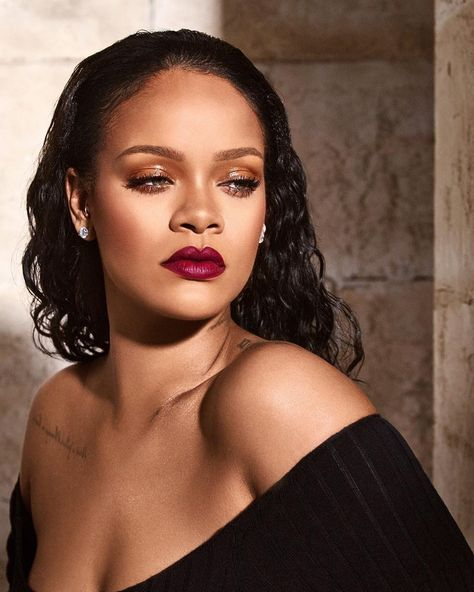 Fenty Beauty unveils ten new shades from its Mattemoiselle matte lipstick line. Brand founder Rihanna appears in the glamorous campaign images and every hue looks perfect on her.