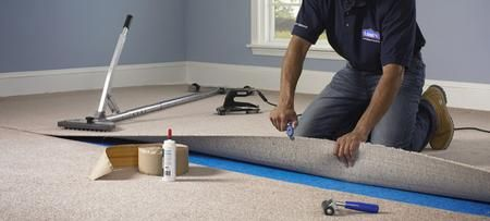 Years Of Wine Spills And Pet Accidents Can Beg The Question Is It Time For A New Carpet Installation With Carpet Installation Home Depot Carpet Carpet Repair