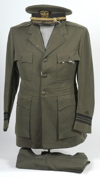 WW2 U.S.N. Aviation Working Service Dress