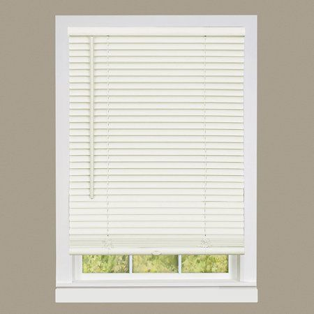 Achim Cordless Gii Deluxe Sundown 1 Room Darkening Mini Window Blind 36x64 Alabaster Walmart Com In 2020 Mini Blinds Vinyl Blinds Shades Blinds