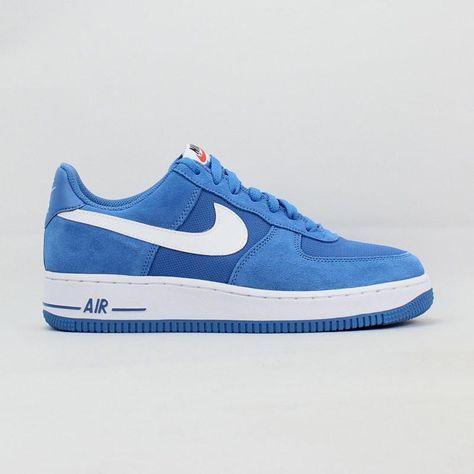 2zapatillas nike air force hombre azul