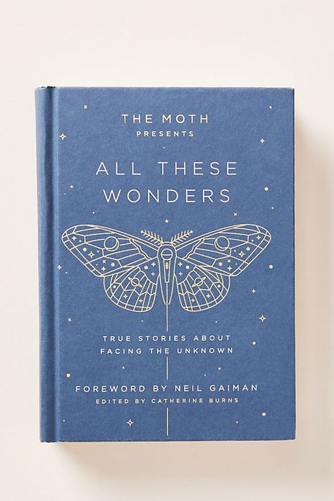 Carefully curated by the creative minds at the Moth, this collection celebrates their anniversary with 45 non-fiction tales adapted to the page to preserve the raw energy of live storytelling… Best Books To Read, Good Books, My Books, Best Poetry Books, Blue Books, Book Club Books, Book Nerd, Buch Design, George Orwell