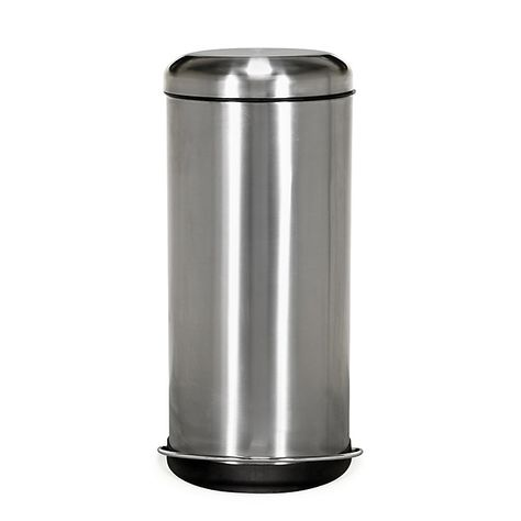 Java Poubelle A Pedale En Inox 30l Trash Can Tall Trash Can