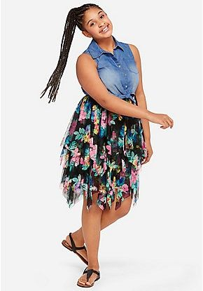 Made for every girl, every day. Discover new styles of girls' plus size dresses at Justice! From casual days to special occasions, we have the perfect dress for her personality.