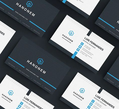 Modern Business Card Layout