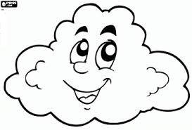 Dibujo De Nube Para Colorear Jpg 273 185 Dibujos De Nubes