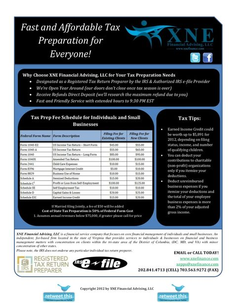 xne-financial-advising-tax-preparation by XNE Financial Advising - unreimbursed employee expense