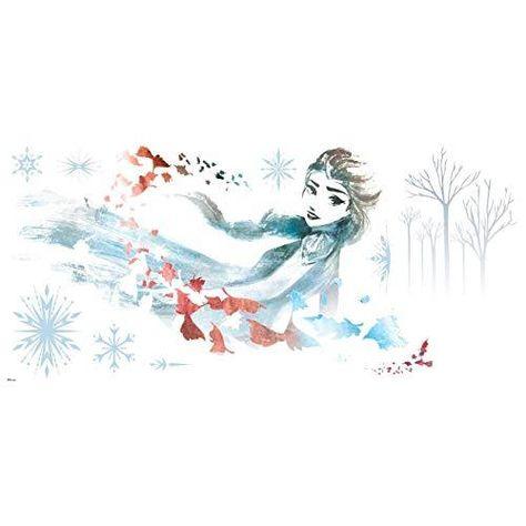 Disney Frozen 2 Watercolor Elsa Peel and Stick Wall Decals