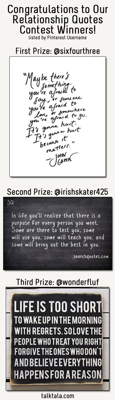 List of Pinterest winner quotes congratulations pictures