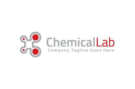 Chemical Lab Logo Template by Logo20 on @creativemarket