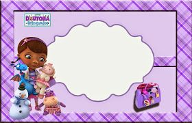 photograph relating to Doc Mcstuffins Printable Invitations identified as Document McStuffins: Absolutely free Printable Invitation, Playing cards or Photograph