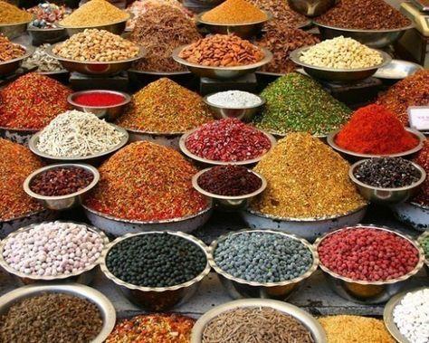Indian Spices   spices   Spices, Spices, herbs, Indian food