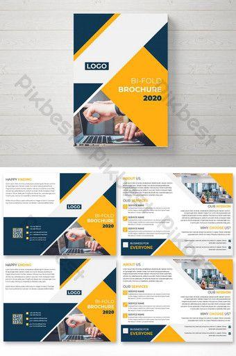 Stunning Professional Bi Fold Brochure Template Graphic Templates Brochure Design Template Brochure Template Free Brochure Template