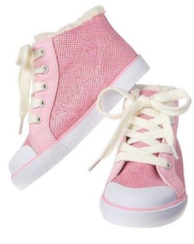 NEW Gymboree Sparkle Pink Girls High