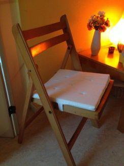 6 Holz Klappstuhle In Berlin Spandau Stuhle Gebraucht Kaufen