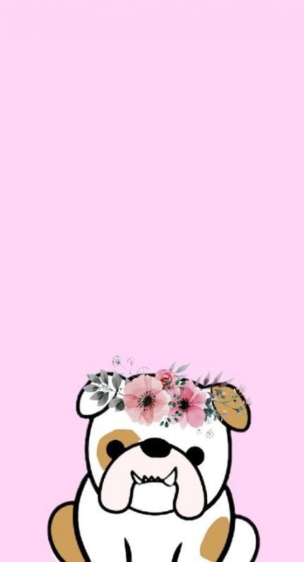 56 Trendy Dogs Tumblr Pink Bulldog Wallpaper Dog Tumblr Bulldog Cartoon