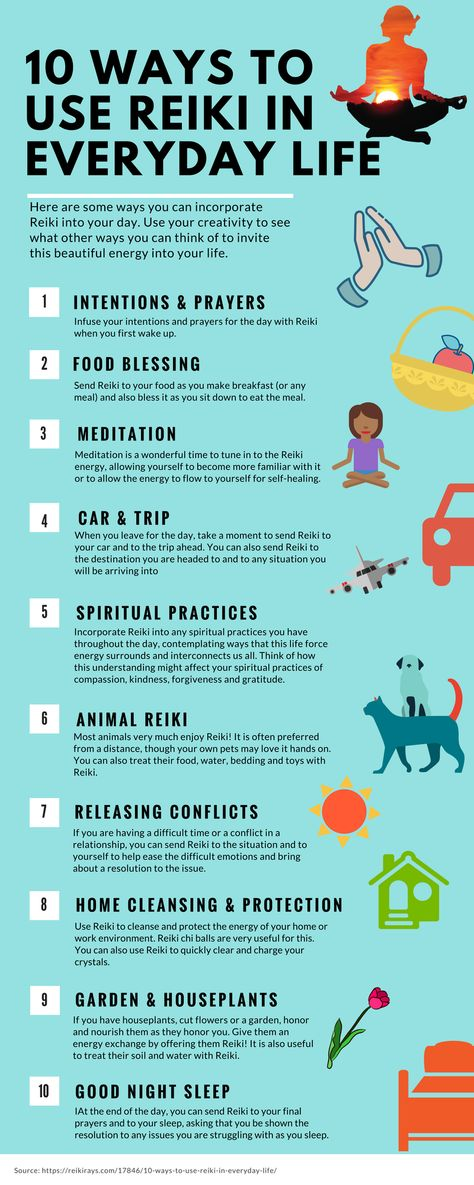 10 Ways to Use Reiki in Everyday Life