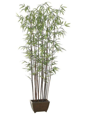 Pack Of 2 Potted Artificial Bamboo Wall Trees 6 You Can Get