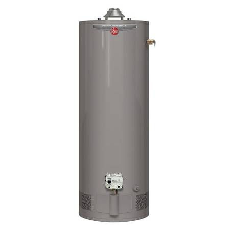 Water Heater 83 Rheem Performance 55 Gallon Gas Water Heater Natural Gas Water Heater Water Heater