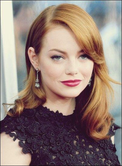 30 Glamourose Emma Stone Frisuren Fur Sie Inspiration Frisur Ideen Emma Stone Beliebte Haarschnitte Frisuren