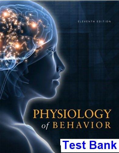 Physiology Of Behavior 11th Edition Carlson Test Bank