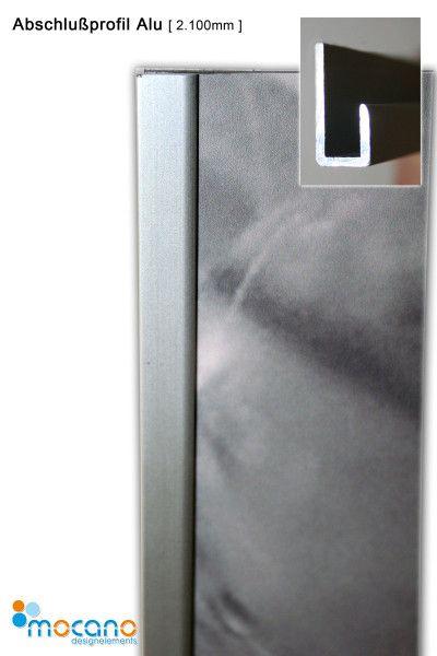 Abschlussprofil Set Alu 210cm Duschruckwand Zubehor