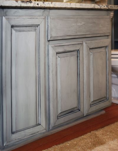 Cabinet Glazing Sisu Painting Glazed Kitchen Cabinets Milk