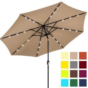 Top 10 Best Patio Umbrella In 2019 Reviews Patio Umbrella Solar Led Lights Best Patio Umbrella