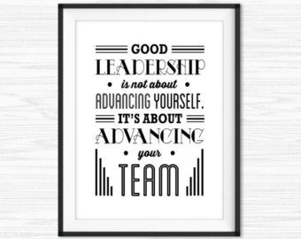 TimPrint Office Wall Art Teamwork Quotes Office Success Quotes Cubicle Decor Inspirational Quote Office Motivation Leadership Quotes Framed print